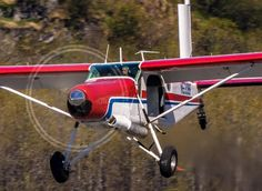 Pilatus Porter at Valdez 2016. Such a workhorse of the backcountry locations all over the world. Demonstrating its STOL performance at Valdez. by deonmitton