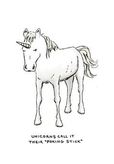 "unicorns call it their ""poking stick"" by sween, via Flickr"