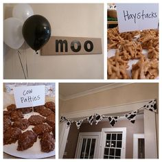 Cow Themed Birthday Party   Themed Parties