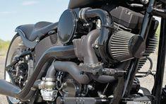 2008 Harley Davidson Night Train Trask Performance Turbo Air Cleaner #HDNaughtyList