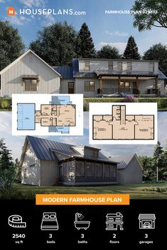 Thousands of house plans are 10% off (like plan 923-173), starting now. Questions? Call 1-800-913-2350 today. #architect #architecture #buildingdesign #homedesign #residence #homesweethome #dreamhome #newhome #newhouse #foreverhome #interiors #archdaily #modern #farmhouse #house #lifestyle #designer Modern Farmhouse Plans, Modern Farmhouse Kitchens, Farmhouse Design, Farmhouse Style, Winner Announcement, Building A Container Home, Country House Plans, Barndominium, House Layouts
