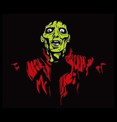 Michael Jackson Thriller Zombie T-Shirt