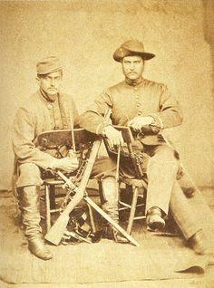 Imagens Históricas: Guerra do Paraguai Officiers bresiliens 1868