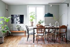 my scandinavian home: A Swedish apartment with old world charm