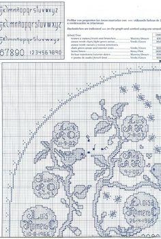 Family Tree - 5/8 Solo Patrones Punto Cruz (pág. 322) | Aprender manualidades es facilisimo.com