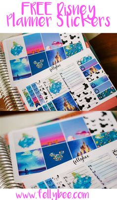 Free Disney Planner Stickers {newsletter subscription required}