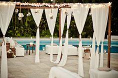 #cocktail-hour  Event Planning, Design + Florals: The Dazzling Details - thedazzlingdetails.com Photography: Photoshoots Vallarta - photoshootsvallarta.com  Read More: http://www.stylemepretty.com/destination-weddings/mexico-weddings/2011/08/22/puerto-vallarta-wedding-by-the-dazzling-details/