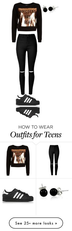 """1"" by melissa22du6 on Polyvore featuring adidas Originals and Bling Jewelry"