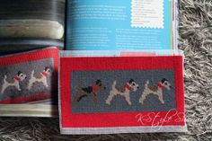 Stanley needlepoint by Cath Kidston