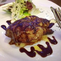 foie gras w/apple