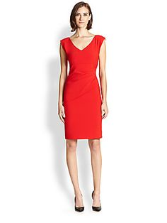 Diane von Furstenberg Bevin Asymmetrical Gathered Dress/Saks Fifth Avenue