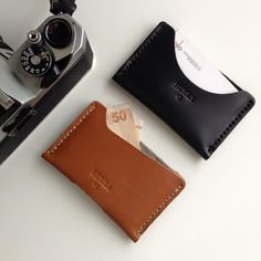Brown & Black Cardholder / Kahverengi & Siyah Kartlık