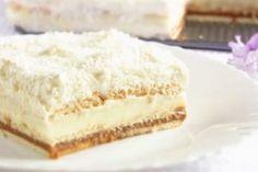 "Un desert frumos și incredibil de gustos: tort polonez ""Pani Walewska"" - Bucatarul Russian Desserts, Romanian Food, Salty Snacks, Round Cake Pans, Cake Toppings, Food Cakes, No Bake Cake, Amazing Cakes, Coco"