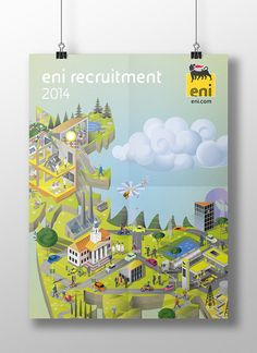 ENI RECRUITMENT 2014 on Behance Recruitment Ads, Typography Design, Behance, Illustration, Type Design, Illustrations, Typographic Design