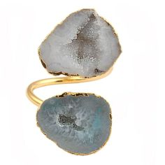 Design Your Own Jewelry, Druzy Quartz, Gold Plated Rings, Handmade Rings, Womens Jewelry Rings, Druzy Ring, Gemstones, Gems, Crystals Minerals