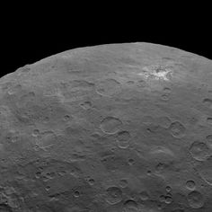 NASA spies 3-mile-tall 'pyramid,' more bright spots on Ceres Dwarf planet Ceres gets weirder as NASA's Dawn spacecraft gets closer. Check out the latest shots from the cosmic paparazzi.