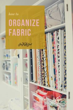 How to store fabric in the DreamBox - see kate sew Quilt Storage, Fabric Storage, Craft Storage, Sewing Hacks, Sewing Crafts, Sewing Projects, Sewing Tips, Quilting Tutorials, Sewing Tutorials