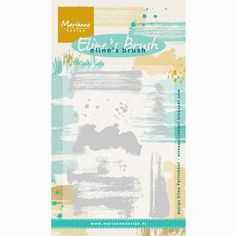 Stamp background panels for your greetings and sentiments with these brush strokes clear stamps. The largest brush stroke stamp measures approximately x 7 x clear stamps to use with an acrylic stamping block. (Stamping block not included) Marianne Design, Texture Design, My Stamp, Clear Stamps, Brush Set, Textured Background, Coloring Pages, Decoupage, Scrapbook
