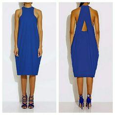 AQ/AQ by Aqua Blue Split Back Dress PRICE FIRM Like new. See photo for more details. AQ/AQ Dresses