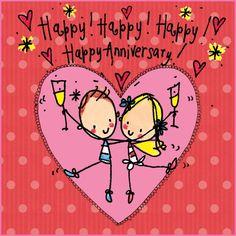 Happy, Happy Happy Anniversary!