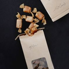(parchment stars caramels, as captured by susan hutchinson - fleurishing)