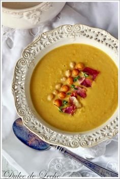 Healthy Treats, Cantaloupe, Food And Drink, Vegan, Soups, Fruit, Smile, Dulce De Leche, Sweets