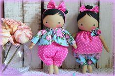 Коллекционные куклы ручной работы. Заказать Малышки на удачу. Semikova Natalya. Ярмарка Мастеров. Текстильная кукла, маленькая кукла, кружево