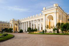 Alexander Palace in Tsarskoye Selo (Pushkin), south of St Petersburg, Russia