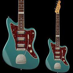 Fender Custom Shop Fender Jazzmaster 2014 - design/concept modified Fender Jazzmaster/Telecaster hybrid by Chris Ferebee Gretsch, Fender Telecaster, Fender Guitars, Best Acoustic Guitar, Guitar Amp, Cool Guitar, Fender Jaguar, Fender Custom Shop, Guitar Building