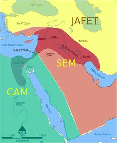 Risultati immagini per sem cam jafet Persian Empire Map, Bible Timeline, Bible Mapping, Wisdom Books, Cradle Of Civilization, Cultura General, Black History Facts, Bible Knowledge, Old Maps