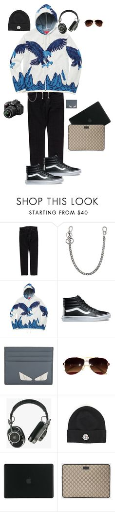 """Mr. Moviemaker"" by kevin-whitcanack on Polyvore featuring Tom Ford, Dsquared2, Nikon, Vans, Fendi, Salvatore Ferragamo, Master & Dynamic, Moncler, Tucano and Gucci"