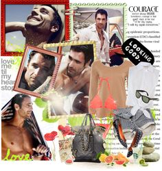 """o9. Raoul Bova - Best Nose ♥"" by pinklady89 ❤ liked on Polyvore"