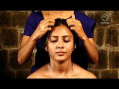 Grow long and healthy hair- scalp massage routine. Ayurvedic Indian Head Massage