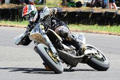 Images by photographer, Wayne Reed. www.osella.com.au. Rd1 of the QLD SuperMoto Championship