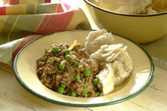 Curried Mince with Steamed Bread