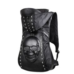 Night Rider Cuir Armure Leather Backpack For Men e82fa370f99c3