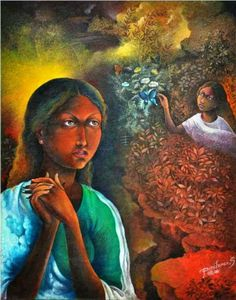 Mithu Basu: Dolna recommends a great way to stART each day. Click for more information on artist Panchanan Sutradhar and details of his works.