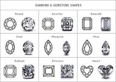Engagement Ring Guide: Stone Cuts & Shapes | Confetti Daydreams - ENGAGEMENT RING SERIES | PART 2: ♥ ♥ ♥ LIKE US ON FB: www.facebook.com/confettidaydreams ♥ ♥ ♥ #Wedding #EngagementRing #Engagement #Ring