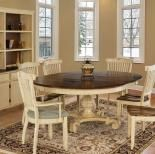 This canadel set is part of the champlain collection and features a rustic finish available in finishes. Made in Canada of solid north american birch wood with a catalyzed varnish that prevents stains . this set is sure to last you a lifetime! French Country Furniture, French Country Decorating, Furniture Upholstery, Dining Furniture, Furniture Redo, Madison Furniture, Table And Chairs, Dining Table, Dining Room