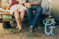 Rustic Barn Engagement Photos In Colorado