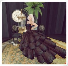 Moda no SL by Luah Benelli: Maai - New Gown!
