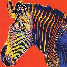 תוצאת תמונה עבור grevy's zebra andy warhol