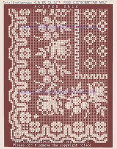 Gallery.ru / Фото #2 - 1 - Athens1 Corset Sewing Pattern, Sewing Patterns, Crochet Patterns, Filet Crochet Charts, Crochet Borders, Crochet Granny, Knit Crochet, Embroidery Patterns, Cross Stitch Patterns