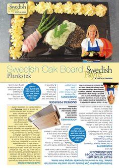 Oak Board Packaging