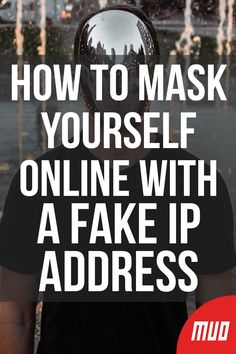 Sometimes you need to hide your IP address. Here are some ways to mask your IP address and cloak yourself online for anonymity. Life Hacks Computer, Iphone Life Hacks, Cell Phone Hacks, Computer Projects, Computer Lessons, Computer Basics, Computer Coding, Computer Help, Computer Internet