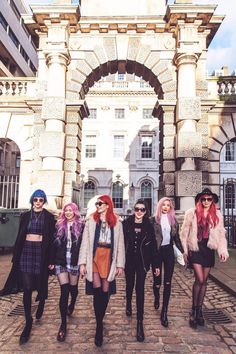 Zoe London - UK Lifestyle Blog: Coloured Hair, Don't Care