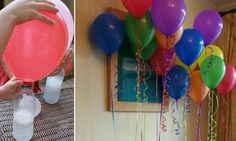 Comment gonfler un ballon sans hélium! Did you know that helium is becoming ever rarer? Ballon Helium, Birthday Balloons, Birthday Parties, Tips & Tricks, Diy For Kids, Party Time, Activities For Kids, Diy And Crafts, Diy Projects