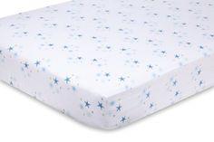 Amazon.com : aden + anais Organic Muslin Crib Sheet, Starstruck : Crib Fitted Sheets : Baby