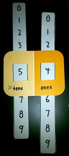 Place Value and a Freebie.... For Kinder, cut apart to ID # that's more or less.