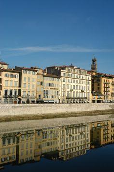 Lungarno degli Acciaiuoli, Firenze (Toscana, Italy) - by Silvana, novembre 2014